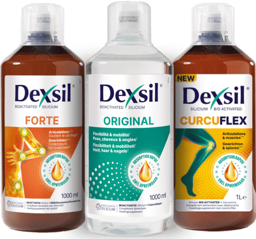 Packshot Dexsil products